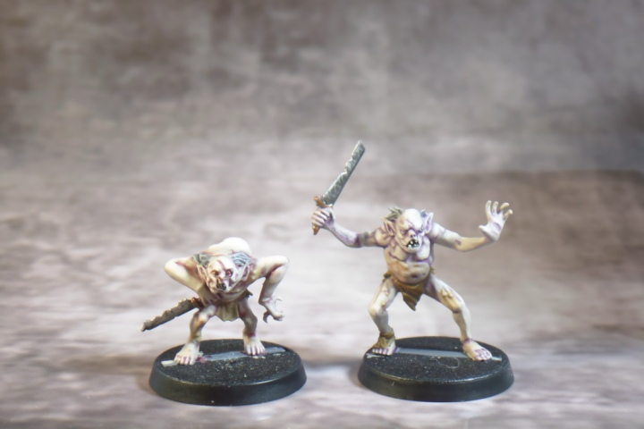 Hobbit Strategy Battle Game First Two Goblin Town Goblins