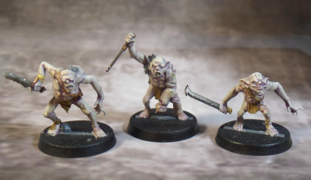 Hobbit Strategy Battle Game Goblin Town Goblins 3-5