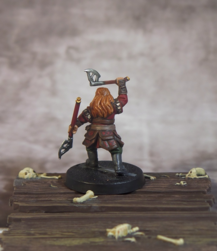 Gloin Back Hobbit Escape From Goblin Town Dwarf Games Workshop Thorin's Company Strategy Battle Game