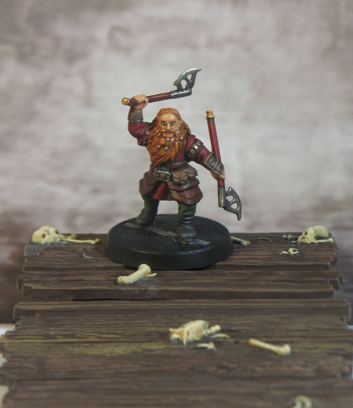 Gloin Front Hobbit Escape From Goblin Town Dwarf Games Workshop Thorin's Company Strategy Battle Game