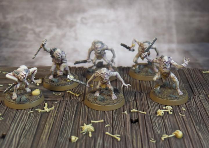Goblin Town Goblins Hobbit Strategy Battle Game Games Workshop First Six Based
