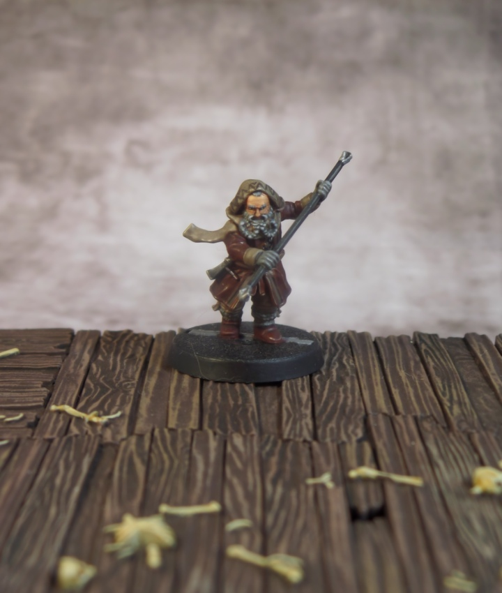 Oin Hobbit Escape From Goblin Town Dwarf Games Workshop Thorin's Company Strategy Battle Game