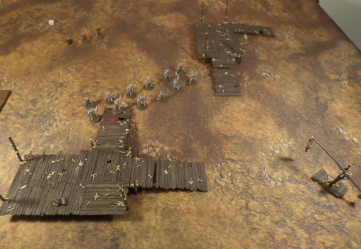 Brothers in Arms Hobbit SBG Scenario Dori Nori Ori Escape From Goblin Town Set Games Workshop