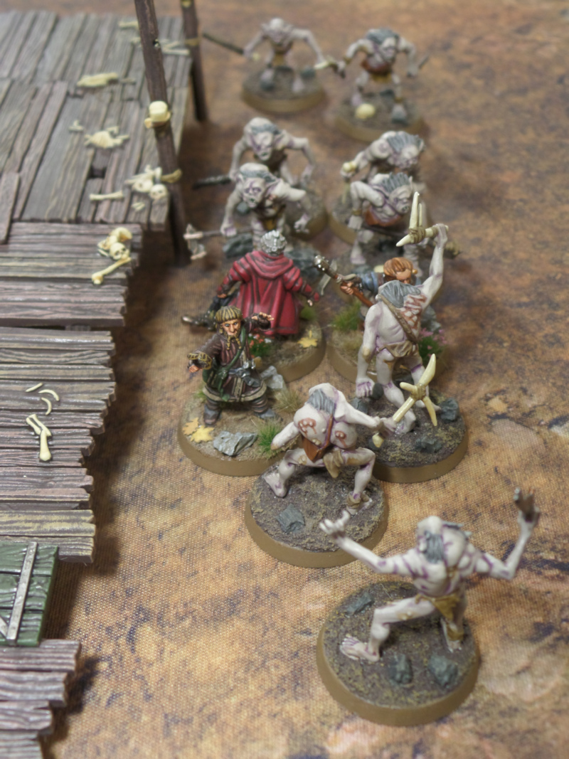 Brothers in Arms Hobbit SBG Scenario Dori Nori Ori Escape From Goblin Town Set Games Workshop