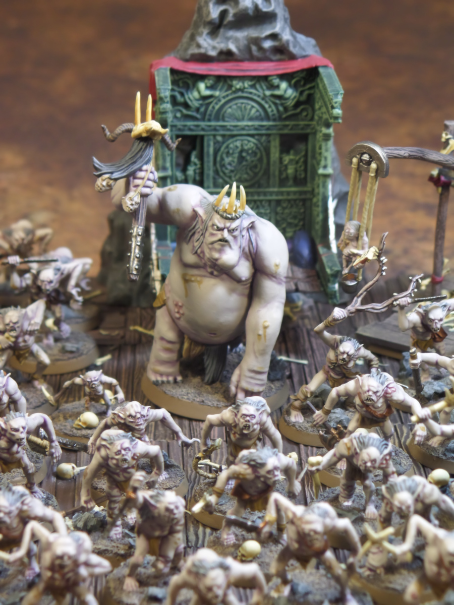 Goblins Goblin King Scribe Grinnah Hobbit SBG Escape From Goblin Town Box Set Games Workshop