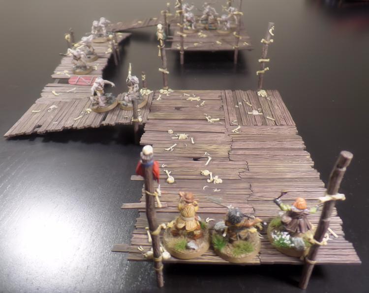Rescue The Baggage Hobbit SBG Scenario Bifur Bofur Bombur Escape From Goblin Town Set Games Workshop