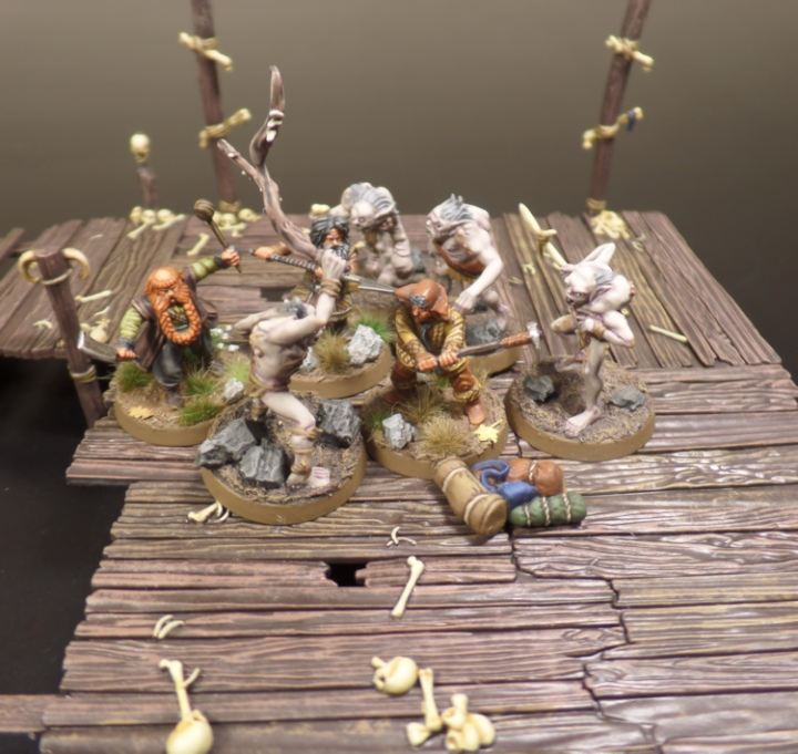 Rescue The Baggage Hobbit SBG Scenario Bifur Bofur Bombur Escape From Goblin Town Set Games Workshop