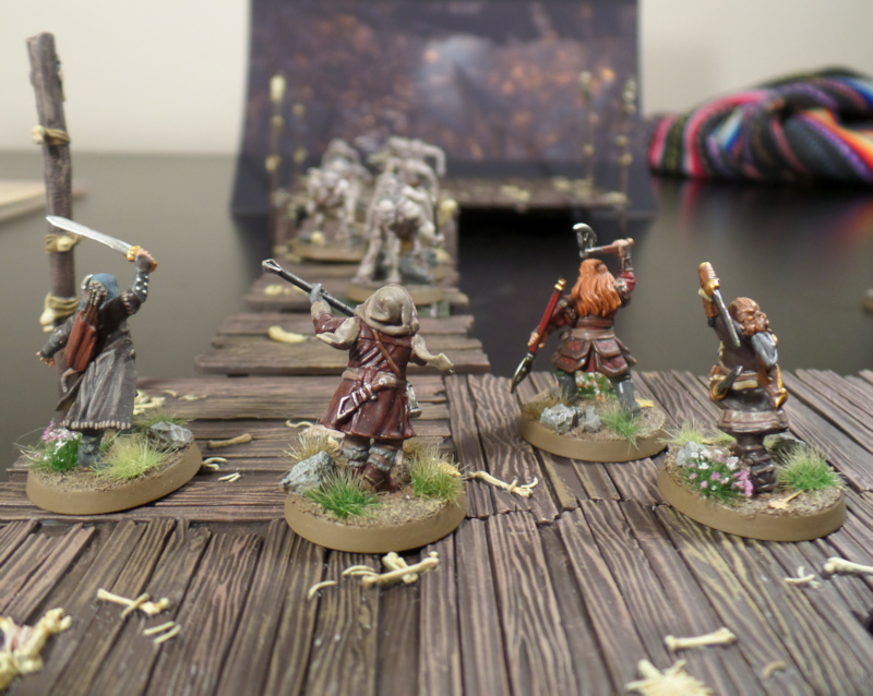 The Break Through Hobbit SBG Scenario Gloin Oin Fili Kili Escape From Goblin Town Set Games Workshop
