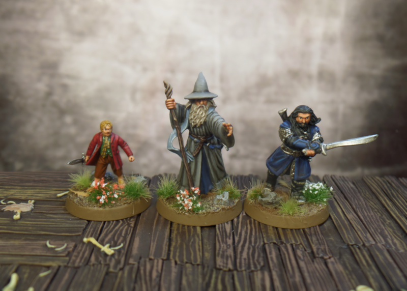Gandalf Thorin Bilbo SBG Escape From Goblin Town Box Set Games Workshop