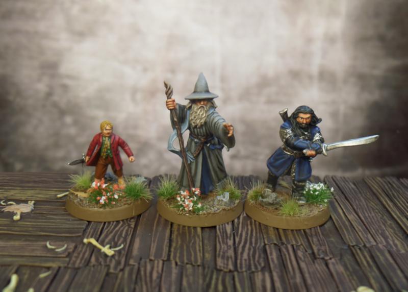 Gandalf Thorin Bilbo SBG Escape From Goblin Town Box Set Games Workshop