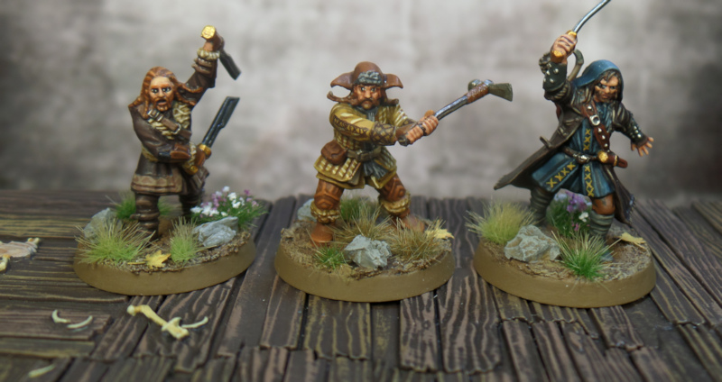 Kili Fili Bofur SBG Escape From Goblin Town Box Set Games Workshop