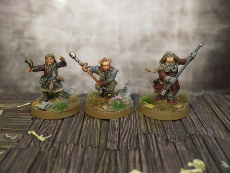 Ori Nori Oin Hobbit SBG Escape From Goblin Town Box Set Games Workshop