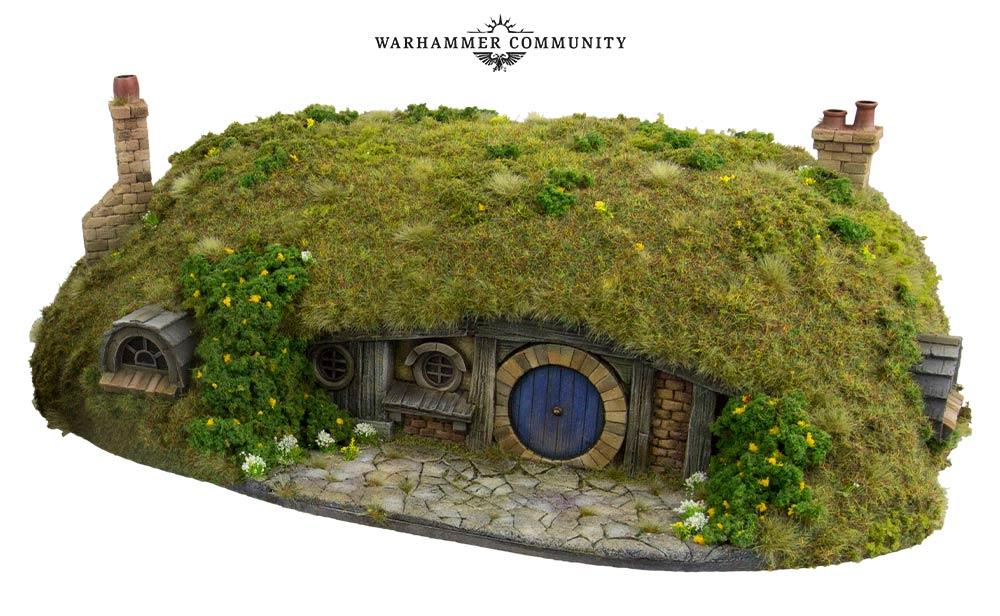 Hobbit Hole Terrain MESBG