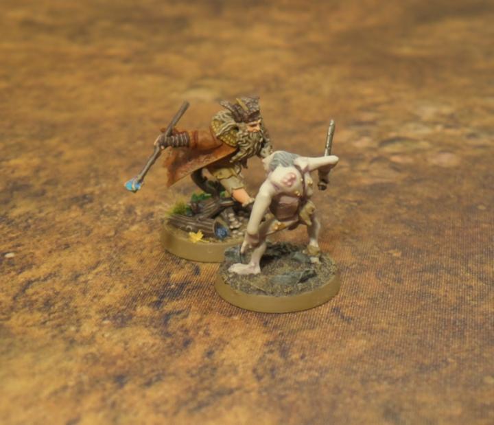 Wizards in the Dark Gandalf Radagast Hobbit SBG Escape From Goblin Town Games Workshop