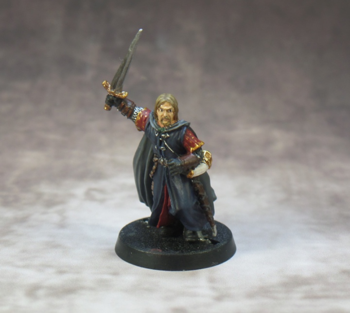 Boromir Breaking of the Fellowship Lord of the Rings Games Workshop