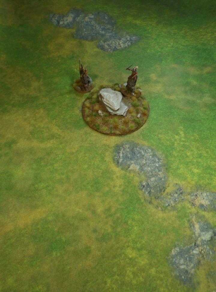 First Hill for Hobbit An Unexpected Journey Terrain Board Eriador on Mat