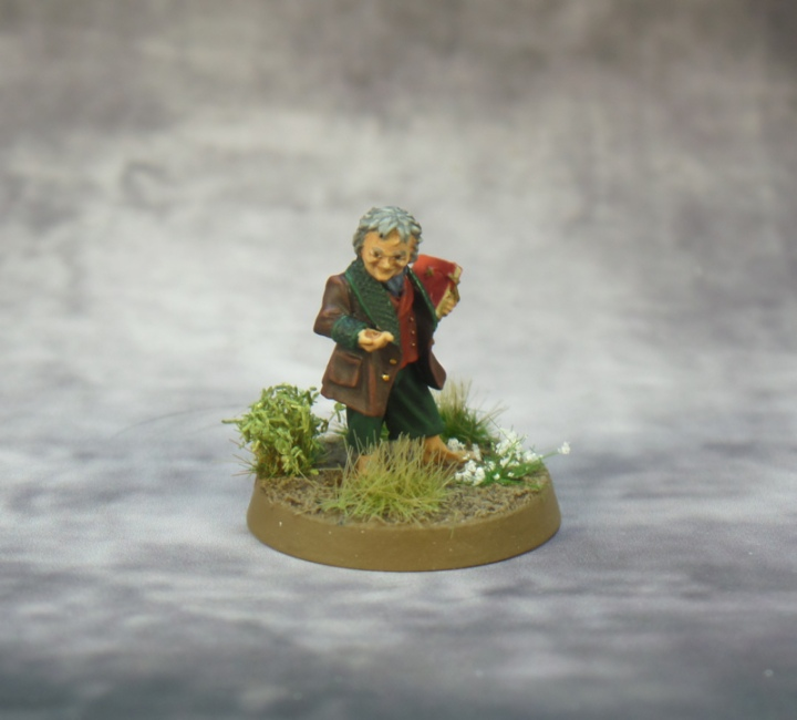 Bilbo Lord of the Rings Strategy Battle Game Fellowship Games Workshop