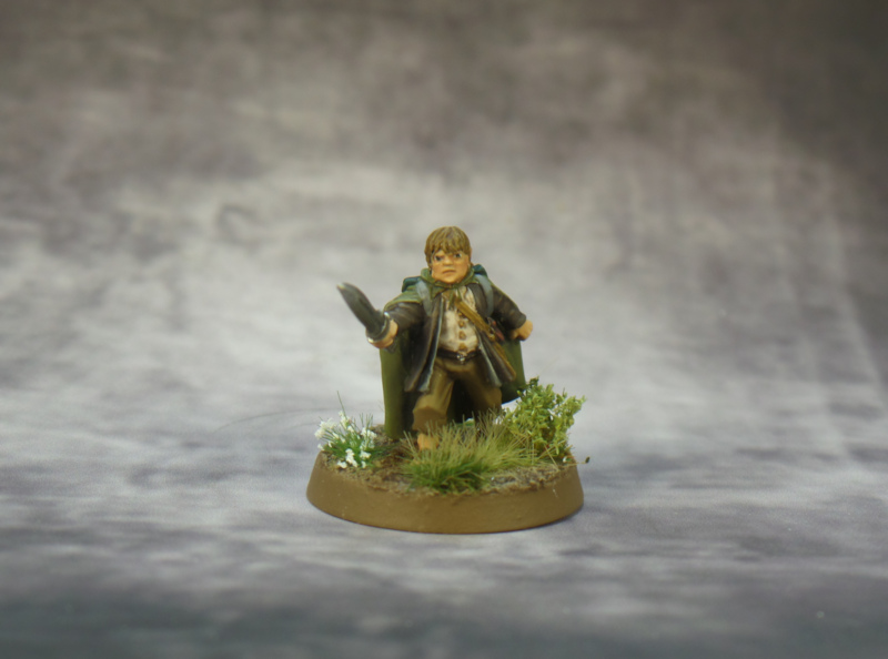 Samwise Lord of the Rings Strategy Battle Game Fellowship Games Workshop
