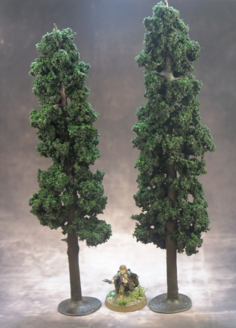 Pine Tree Terrain Samwise Gamgee Hobbit Strategy Battle Game Games Workshop