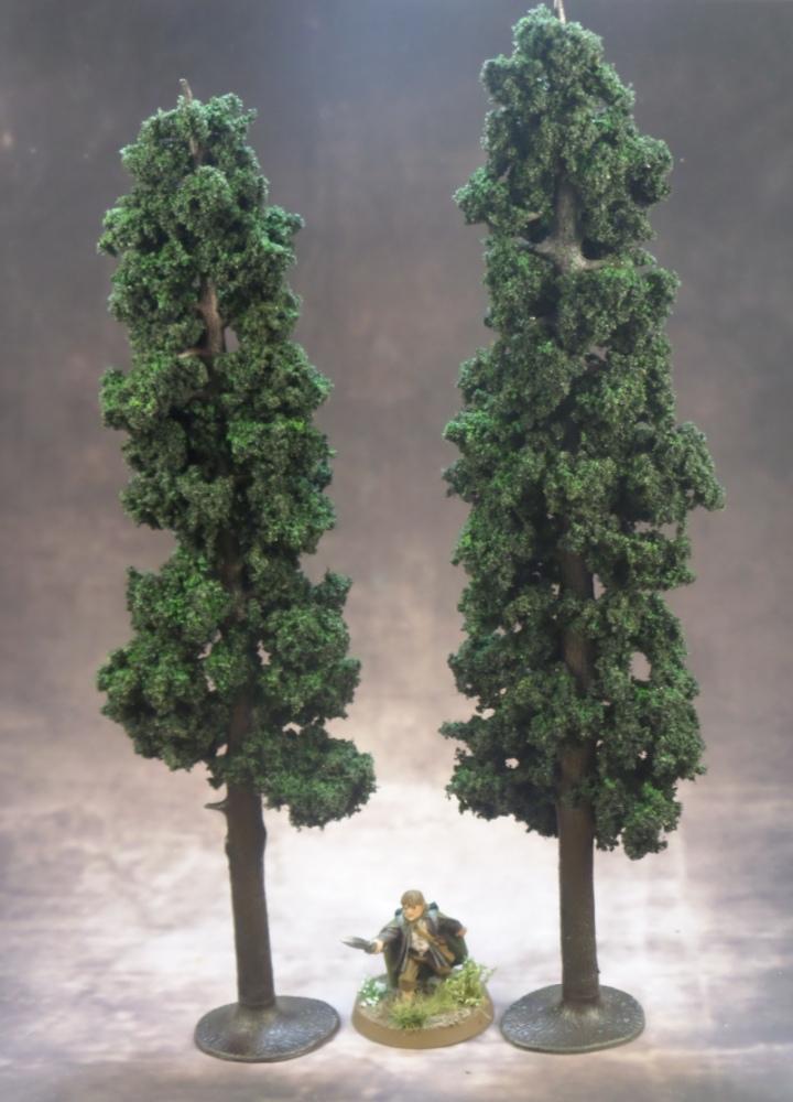 Pine Tree Terrain Samwise Gamgee Hobbit Strategy Battle Game Games Workshop