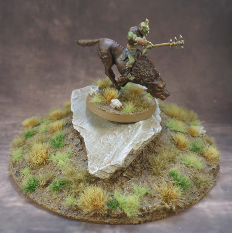 Fourth Hunter Orc on Fell Warg Hobbit Strategy Battle Game Games Workshop