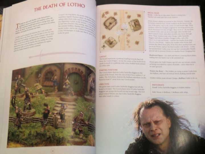 Death of Lotho Scouring of the Shire Book Middle Earth Strategy Battle Game Games Workshop