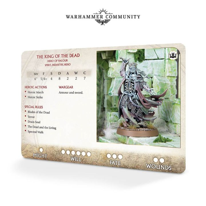 Army Cards MESBG Games Workshop