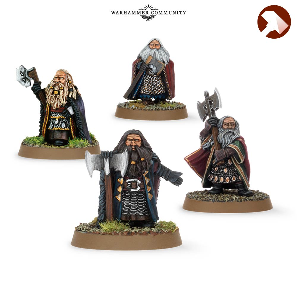 Dwarf Kings Made to Order MESBG Games Workshop
