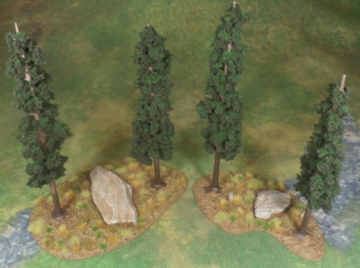 Eriador Tree Terrain Hobbit Strategy Battle Game Games Workshop