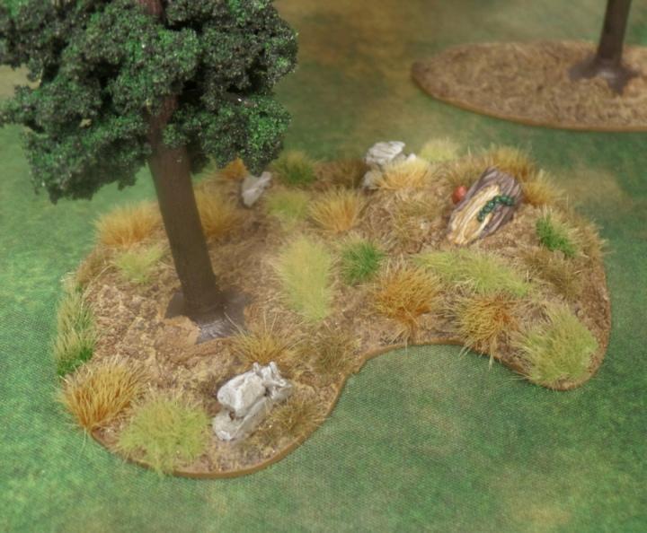Pine Tree Terrain Hobbit SBG Games Workshop