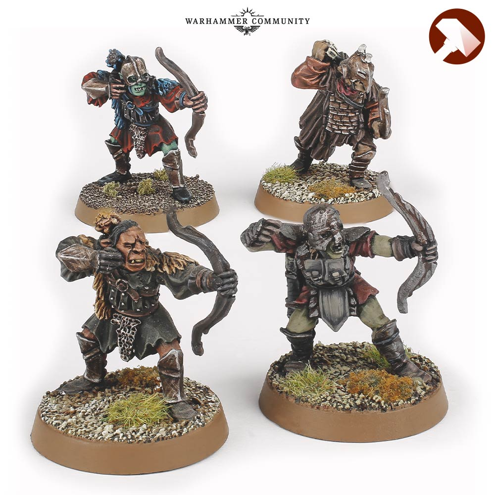 Mordor Orc Bowmen Made to Order MESBG Games Workshop