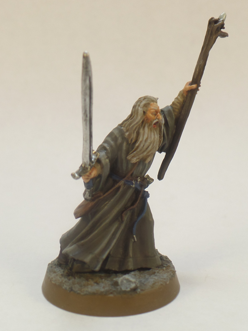 Gandalf Lord of the Rings Strategy Battle Game Games Workshop Breaking of the Fellowship