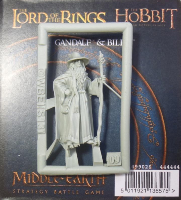 Gandalf Hobbit Finecast Resin Games Workshop Middle Earth Strategy Battle Game Hobbit Strategy Battle Game