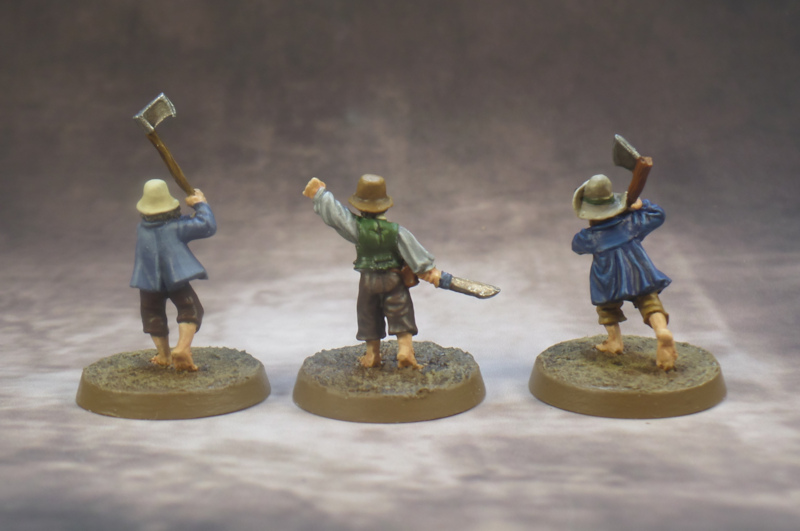 Hobbit Militia Games Workshop Scouring of the Shire Lord of the Rings Strategy Battle Game Middle Earth Strategy Battle Game