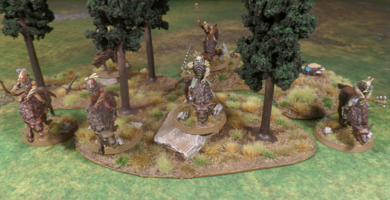 Hunter Orc on Fell Warg Hobbit Strategy Battle Game Games Workshop Azog