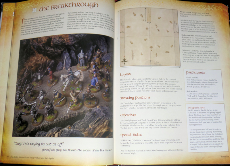 There and Back Again book Hobbit Strategy Battle Game Games Workshop