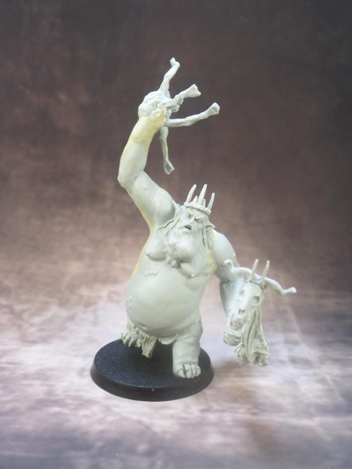 Goblin King Throwing Goblin Games Workshop Hobbit Strategy Battle Game