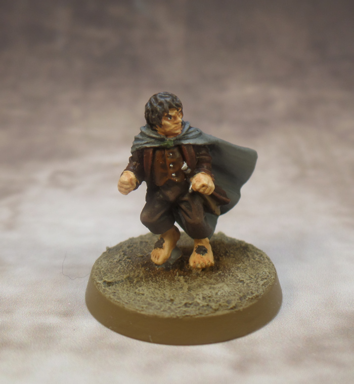 Frodo Breaking of the Fellowship Games Workshop Lord of the Rings Strategy Battle Game