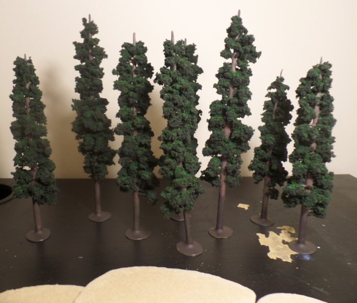Pine Tree Terrain Hobbit Strategy Battle Game Middle Earth Lord of the Rings Games Workshop