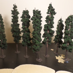 Making Pine Trees for MESBG
