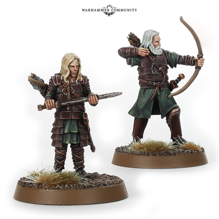 Aldor and Haleth Rohan Games Workshop Middle Earth Strategy Battle Game