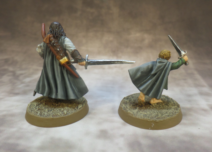 Breaking of the Fellowship Lord of the Rings SBG Games Workshop Merry Aragorn