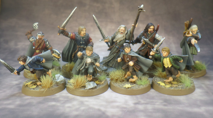 Breaking of the Fellowship Lord of the Rings Strategy Battle Game Games Workshop