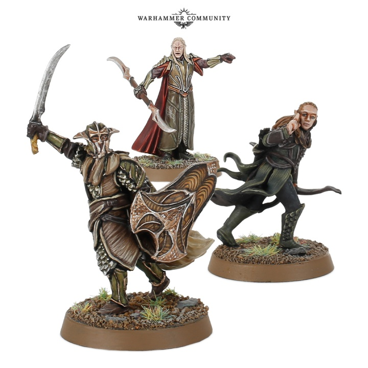 Elf Captains Hobbit SBG Games Workshop