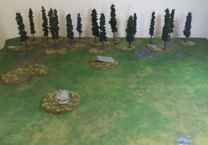 Eriador Board with Finished Trees Hobbit Strategy Battle Game Games Workshop