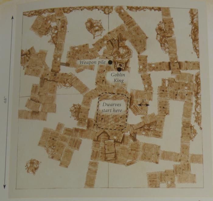 Goblin Town Scenario Hobbit Strategy Battle Game Games Workshop