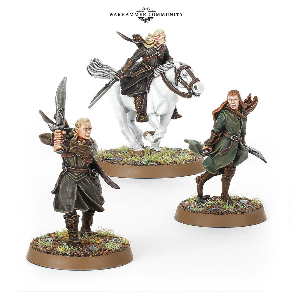 Legolas and Tauriel Hobbit SBG Strategy Battle Game