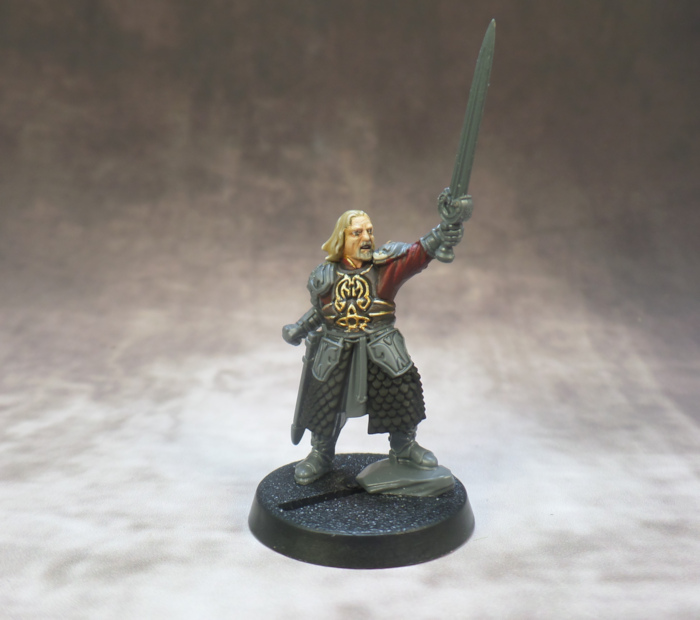 Theoden Middle Earth Lord of the Rings Strategy Battle Game Games Workshop