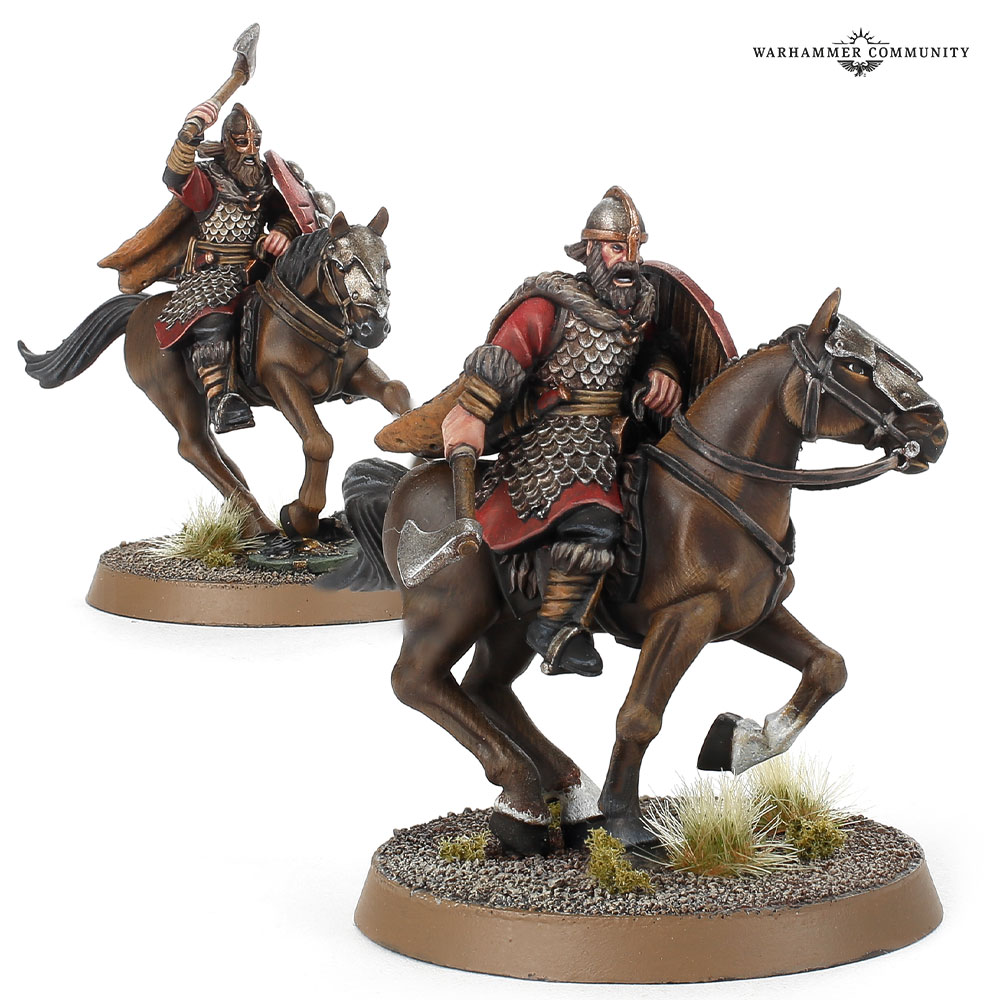 Dunlending Cavalry Middle Earth Strategy Battle Game Games Workshop