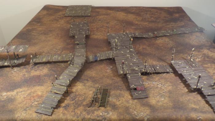 Goblin Town Terrain WIP Hobbit Strategy Battle Game Games Workshop
